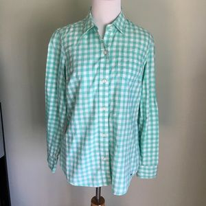Vineyard Vines Gingham Flannel Button Down Shirt
